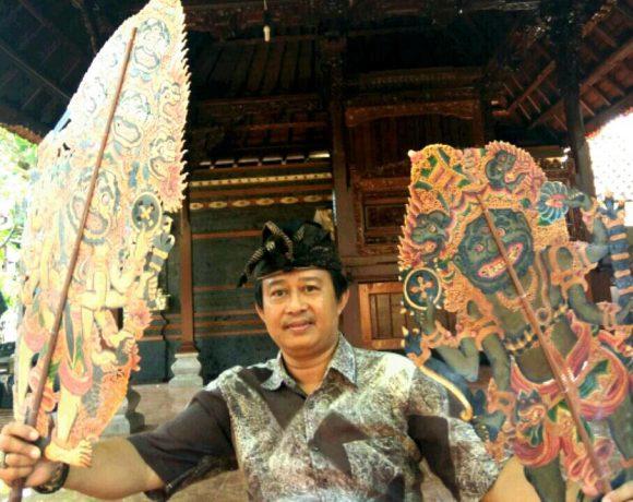 Ketut Sudiana Dalang Wayang Kulit Beri Workshop Hingga Ke Luar Negeri