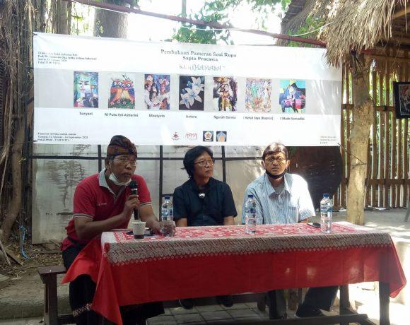 """""""Kerthamasa"""" Tema Pameran Seni Rupa Sapta Pracasta di Arma Museum Ubud"""