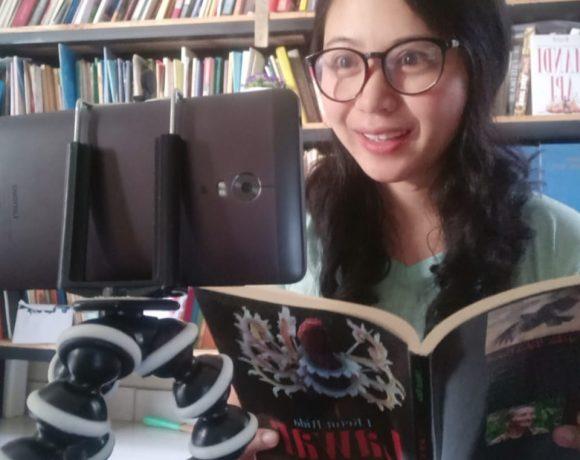 55 Pegiat Sastra Bali Modern Baca Cerpen dan Puisi Peringati HUT ke-75 RI