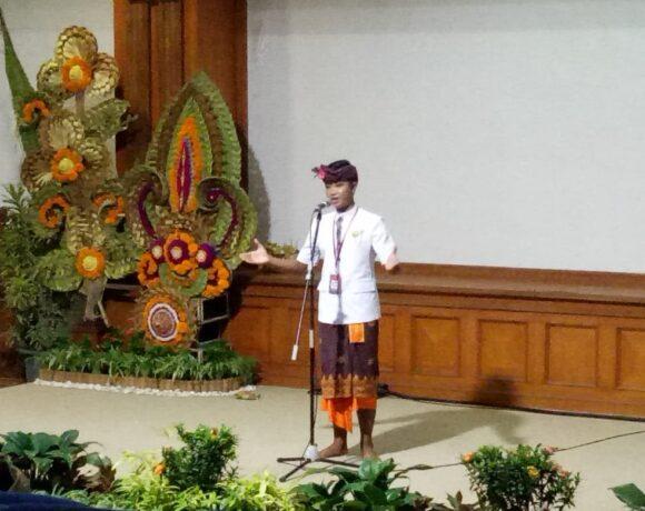 Lomba Pidarta Basa Bali PKB XLIII